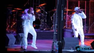 "112 performs ""Peaches and Cream"" live at Valentine's Love Jam Concert"