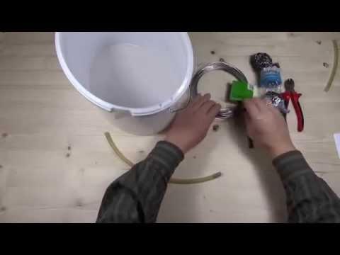 Wurmzucht für Riesenrotwürmer (Dendrobena) selber bauen
