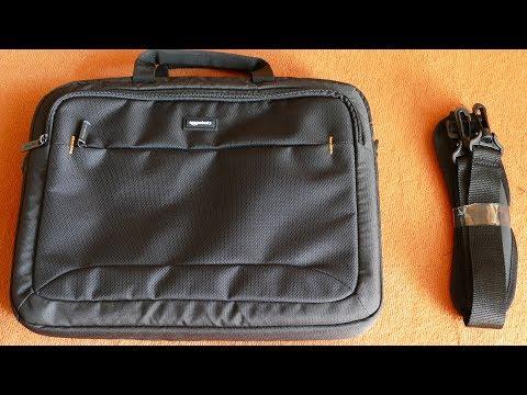 AmazonBasics Tasche für 15,6 Zoll Laptop [Vorgestellt]