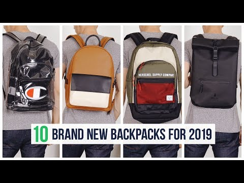 10 Backpacks You Need for Fall 2019 | Brand New Men's BTS Book Bags
