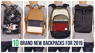 10 Backpacks You Need for Fall 2019   Brand New Men's BTS Book Bags