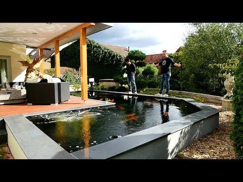 Modern Koi Blog #2846 - Mit Makoto auf Deutschlandtour: Steffens Teich
