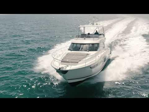 Prestige 550 Flybridge video