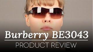 f4b51eeca5ee Burberry Sunglasses Review - Burberry BE3043 100313 Sunglasses Review