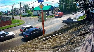Придурки на дороге, приколы на дороге 2018 1