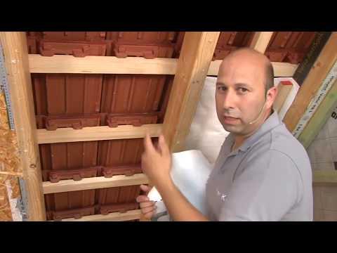 Integra Einblaswolle - Einsatz bei fehlender Unterdeckbahn ✔ ISOVER live ★ Web TV für Handwerker
