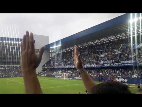 """""""Esta pasion es fuerte y la soporto y golll de J.R."""" Barra: Boca del Pozo • Club: Emelec"""