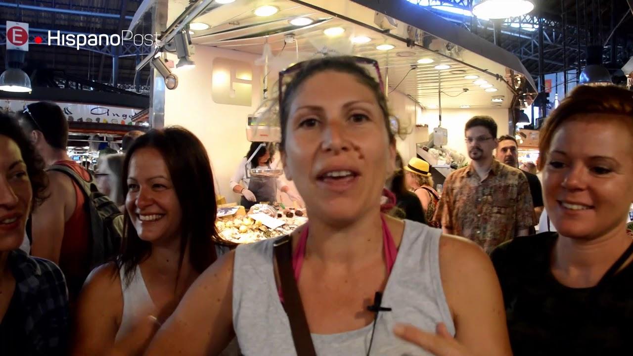 El Mercat de La Boqueria está desbordado de turistas