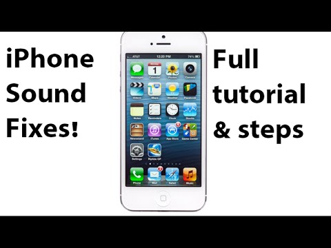 How to FIX iPhone Speaker & SOUND problem – PROVEN