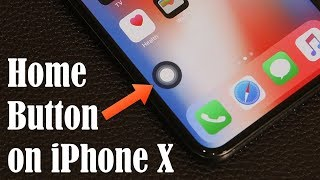 How to Enable the Secret Home Button on the iPhone X - It's there