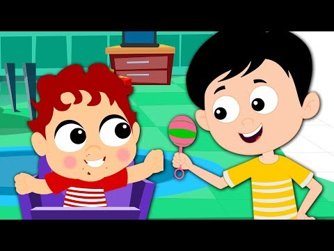 Pat A Cake | Nursery Rhymes For Kids And Childrens | Baby Songs