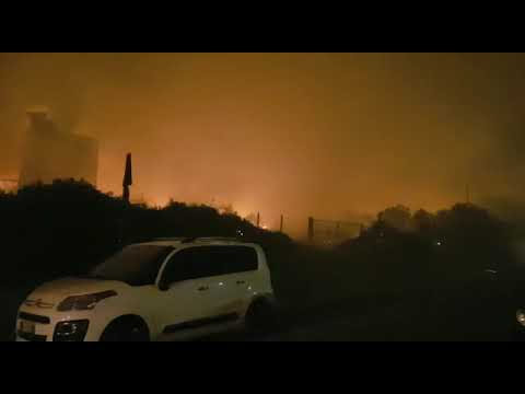 Incendio Monte Serra, incredibile forza del vento