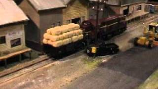 preview picture of video '49 class by Trainorama with sound on the Tumut Branch Line Layout'