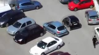 Бабы за рулем, приколы на дороге 2018 1