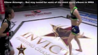 Joanne Calderwood: Knee Livershot Setup By Punches