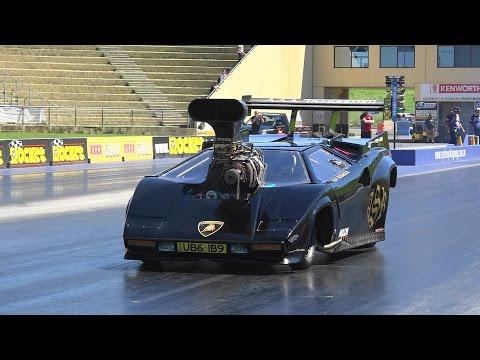 lamborghini countach racing as top fuel dragster we ve seen it all autoevolution. Black Bedroom Furniture Sets. Home Design Ideas