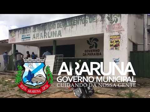 Prefeito Vital e Suplan vistoriam prédio onde funcionou Vaca Mecânica em Araruna
