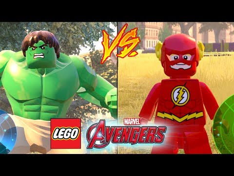 HULK VS FLASH - LEGO Marvel Avengers (LEGO Marvel Vingadores)