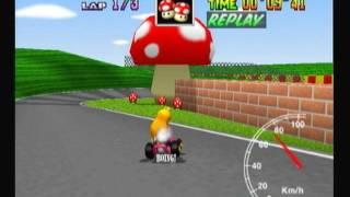 "Mario Kart 64 - Mario Raceway 1lap 27""99"