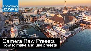 Creating, Saving, and Loading Adobe Camera Raw Presets