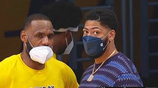 LeBron James Tries To Force Anthony Davis To Play While Injured During Loss vs Nets (Parody)