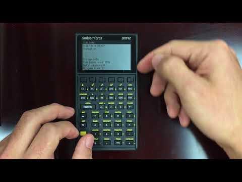 Review of the DM42 Scientific Calculator