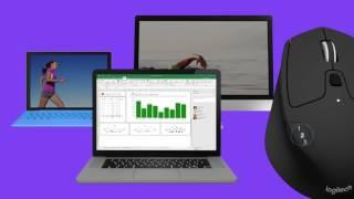 Мышь беспроводная Logitech M720 Triathlon (910-004791) Black USB від компанії CyberTech - відео