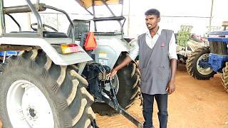 Powertrac Euro 50 tractor's top link bracket - Srilankan Tamil