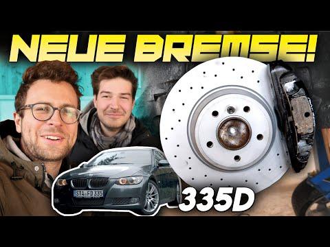 BMW E92 335D | NEUE BREMSE | Scheiben und Beläge montieren | Fahr doch