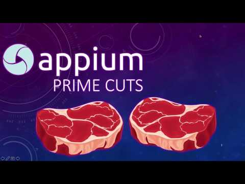 Appium: Prime Cuts Related YouTube Video