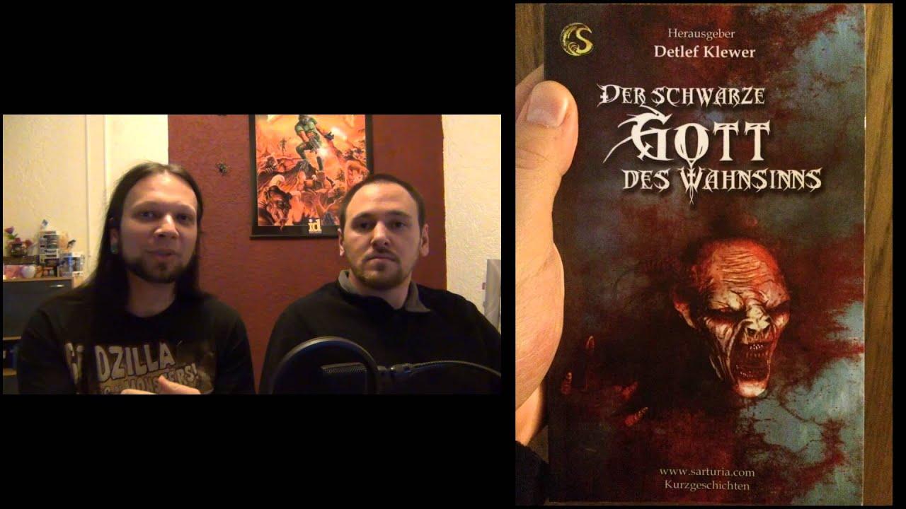 [Buchvorstellung] Der Schwarze Gott des Wahnsinns (Sarturia Verlag)