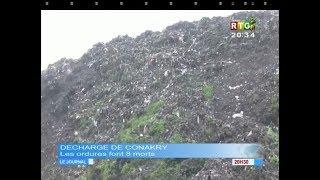 Conakry : Les ordures font 8 morts et plus de 10 blessés