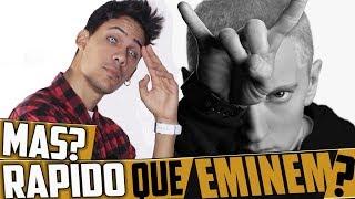 ¿ PUEDO RAPEAR MAS RÁPIDO QUE EMINEM ? INCREIBLE!! RAP FASE DIOS!! | KRONNO ZOMBER