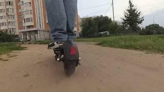 Электросамокат Speedway Mini IV на бездорожье. Съемка на экшнкамеру