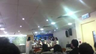 홍콩제일교회 호산나성가대 - 지극히 작은 자 하나에게 (2012년 1월 8일 찬양)