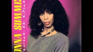 SHOUT IT OUT LP - DONNA SUMMER - Na Na Hey Hey / They Can't Take Away Our Music - PRE 1974