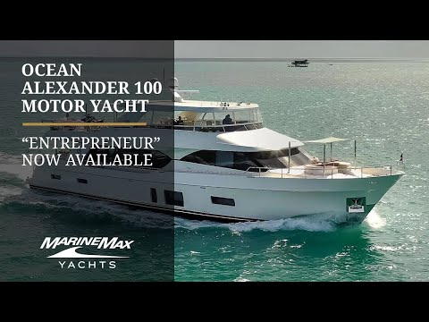 Ocean Alexander 100 MY video