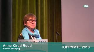 Toppmøte 2018 – Anne Kirsti Ruud