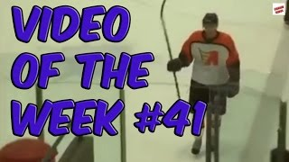 Video of the week 41 - Hockey Player Fail