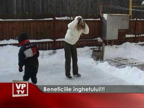 Beneficiile îngheţului!!!