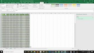 Import Stock data into Excel using Power Query
