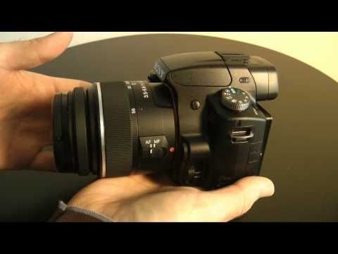 Sony Alpha SLT-A55 VL Digital SLR Camera Review