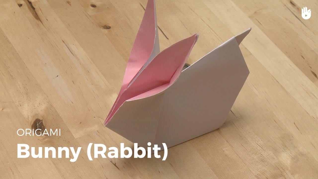 origami rabbit learn how to make origami sikana