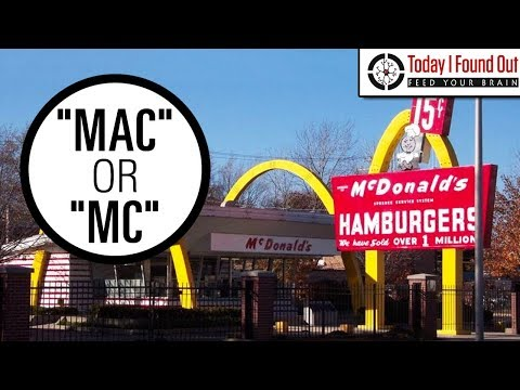 """Why Do """"Mac"""" and """"Mc"""" Surnames Often Contain a Second Capital Letter?"""