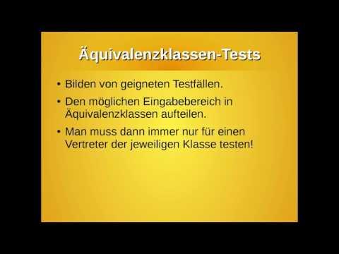 Testen in der Softwareentwicklung