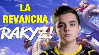 LA REVANCHA DE RAKYZ CONTRA FAKER!