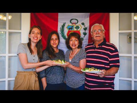 , title : 'AJÍ DE GALLINA + SUSPIRO a la LIMEÑA | Cocinando COMIDA PERUANA para las Fiestas Patrias de Perú!