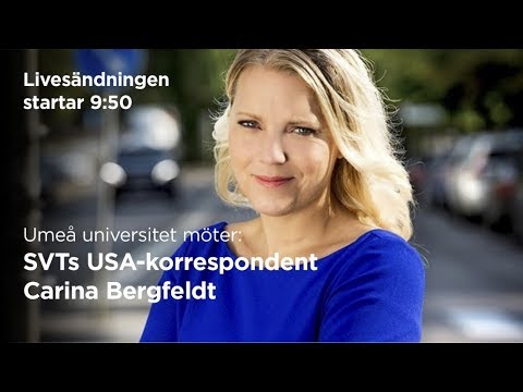 Film: Umeå universitet möter Carina Bergfeldt