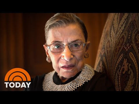 Ruth Bader Ginsburg Dies At 87: Remembering Her Life And Legacy | TODAY