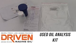 In the Garage™ with Parts Pro Performance Centers™: Driven Racing Oil Analysis Kit
